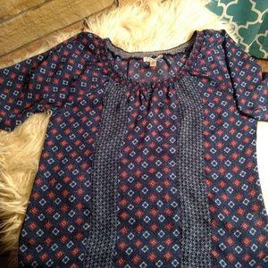 Womens half sleeve blouse